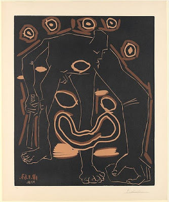 The Old Jester, Pablo Picasso, 1963. Metropolitan Museum of Art, New York. © 2018 Estate of Pablo Picasso / Artists Rights Society (ARS), New York